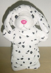 hand puppet dalmation
