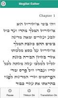 Screenshot of JOFA's Megillat Esther