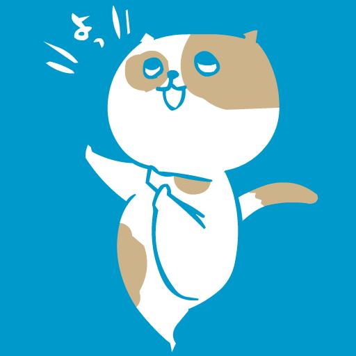 Dancing cat LOGO-APP點子