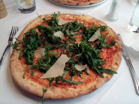 Pizza Ruccola e Grana