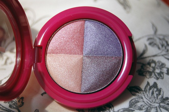 b.pretty Eyeshadow Quattro 405 glamour1