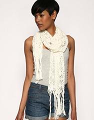 lng crochet scarf