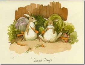 Salad days card