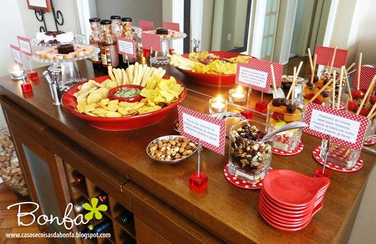 Katia Bonfadini Festa do vermelho & branco degustação de molhos
