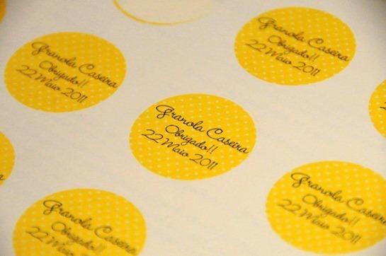 granola labels - segunda tentativa