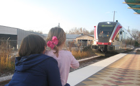 Austin Parenting Mom Kids Light Rail Downtown