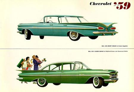 Chevrolet Impala  modelo 58 al 64  pa´ todos los gustos