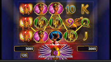 Screenshot of King's Tomb Video Slot Machine