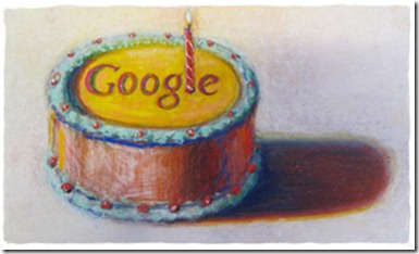 Happy 12th Birthday Google