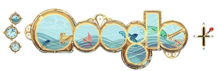 Google Logos-Jules Verne