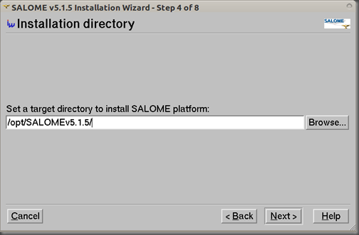Screenshot-SALOME v5.1.5 Installation Wizard - Step 4 of 8
