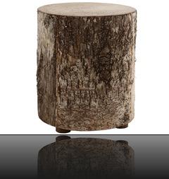 Tabouret en bois