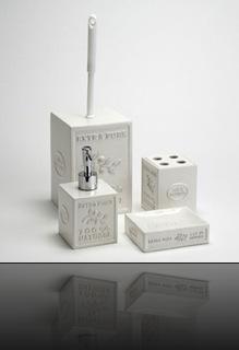 Accessoire salle de bain design