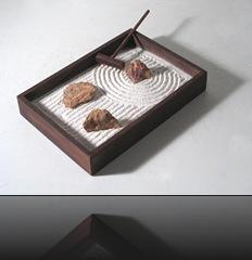 jardin zen miniature