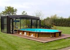 Abri de piscine hors sol