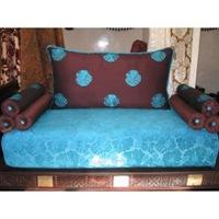 Décoration marron chocolate et bleue turquoise