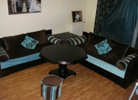 Salon Marocain Moderne Bleu. Beautiful Medium Size Of Deco Interieur ...