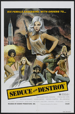 The Doll Squad (aka Seduce and Destroy) (1973, USA) movie poster