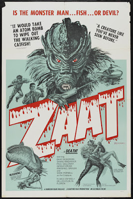 Zaat (aka Blood Waters of Dr. Z) (1975, USA) movie poster