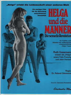 Helga and Men: The Sexual Revolution (Helga und die Männer - Die sexuelle Revolution) (1969, Germany) movie poster