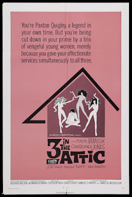 Three in the Attic (1968, USA) movie poster