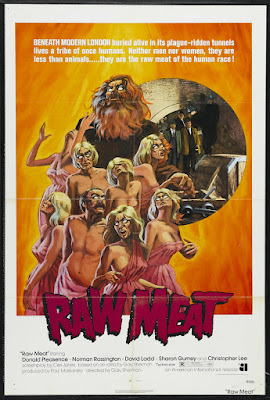 Death Line (aka Raw Meat) (1972, UK) movie poster