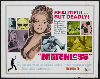 Matchless (1967, Italy) movie poster