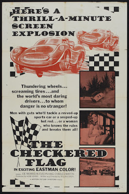 The Checkered Flag (1963, USA) movie poster