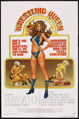 The Wrestling Queen (1975, USA) movie poster