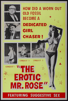 The Erotic Mr. Rose (1964, USA) movie poster