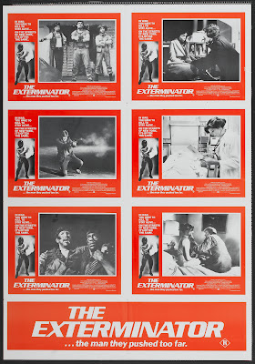 The Exterminator (1980, USA) movie poster