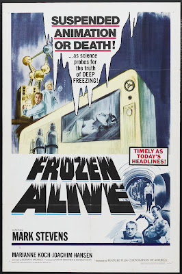 Frozen Alive (Der Fall X701) (1964, UK / Germany) movie poster