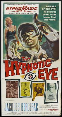 The Hypnotic Eye (1960, USA) movie poster
