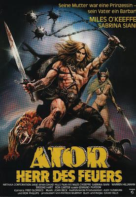 Ator, the Fighting Eagle (Ator l'invincibile / Ator the Invincible) (1982, Italy) movie poster