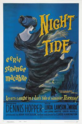 Night Tide (1961, USA) movie poster