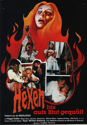 Mark of the Devil (Hexen bis aufs Blut gequält) (1970, Germany) movie poster