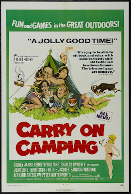 Carry on Camping (1969, UK) movie poster