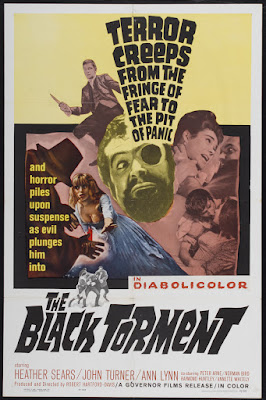The Black Torment (1964, UK) movie poster