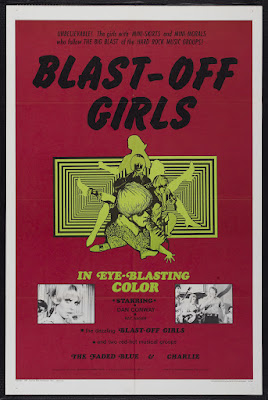 Blast-Off Girls (1967, USA) movie poster