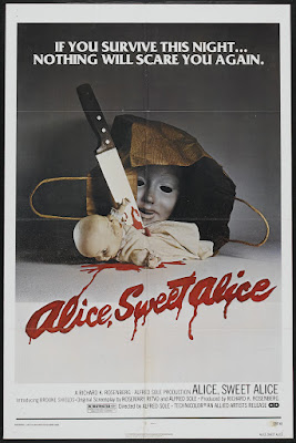 Alice Sweet Alice (aka Communion) (1976, USA) movie poster