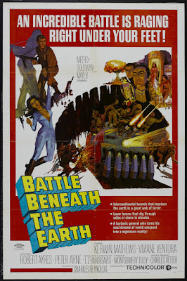 Battle Beneath the Earth (1967, UK) movie poster