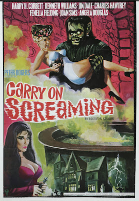 Carry on Screaming! (1966, UK) movie poster