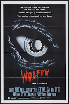 Wolfen (1981, USA) movie poster