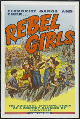 Rebel Girls (1957, Philippines) movie poster