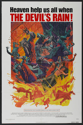 The Devil's Rain (1975, USA) movie poster