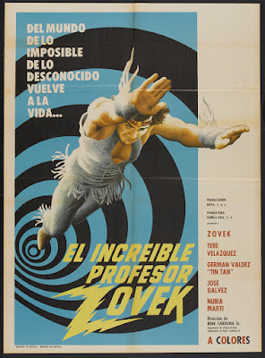 The Incredible Professor Zovek (El increíble profesor Zovek) (1972, Mexico) movie poster