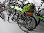 Il y a de drôles d'engins dans le garage à vélo de mon bloc...
