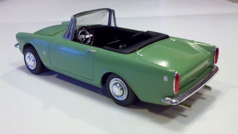 66 Sunbeam Tiger Scale Auto Magazine For Building