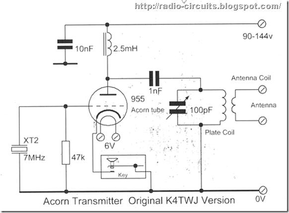acorn-valve transmitter