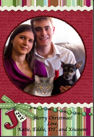 family holiday card 2008